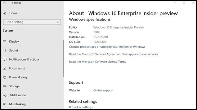 change windows 10 enterprise to home