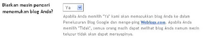 Cara DAFTAR BLOG KE SEARCH ENGINE Google & YAHOO!
