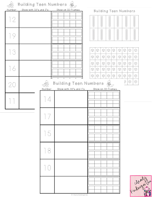 Clearly Kindergarten: Jury Duty and a Math FREEBIE