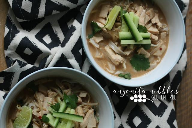 Gluten Free Chicken Laksa Curry | Anyonita Nibbles