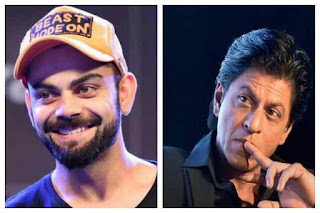 Spotlight : Virat Kohli Pips Shah Rukh Khan To Become India's Most Valuable Celebrity Brand