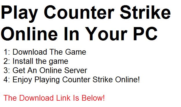 Spiel Counter Strike