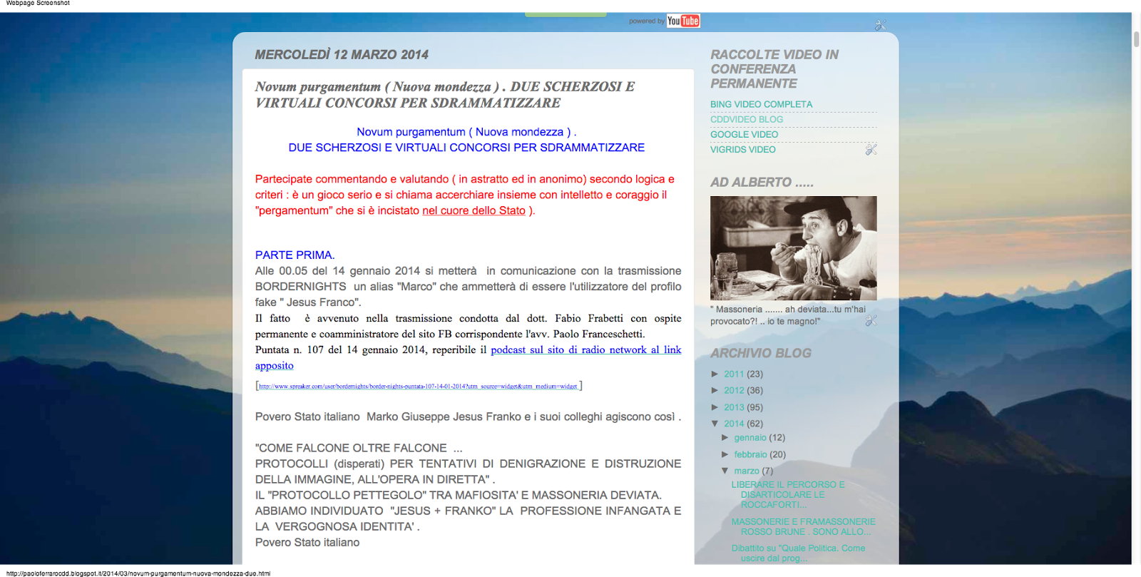 https://paoloferrarocdd.blogspot.it/2014/03/novum-purgamentum-nuova-mondezza-due.html