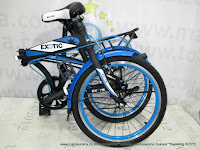 Sepeda Lipat Exotic ET2026MK Bearing Bottom Bracket 20 Inci