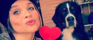 Alessandra Amoroso cane Buddy