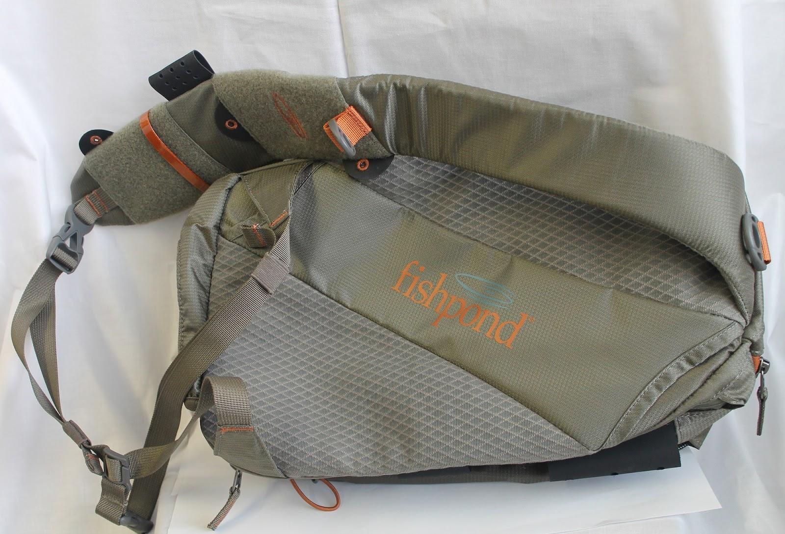 Gorge fly shop blog sling pack showdown for Fishpond fly fishing