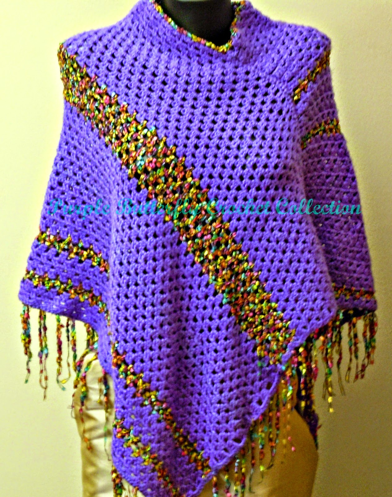 Purple Butterfly Crochet Collection: summer