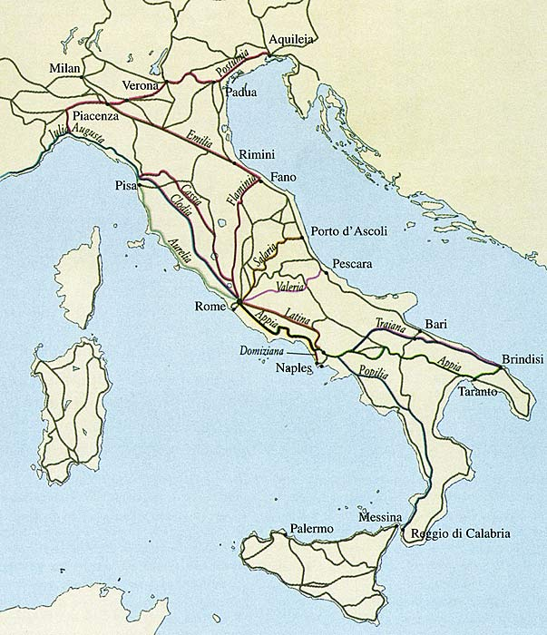 Wendy Quest Research Ancient Rome Maps of Roman Roads – Ancient Rome Map Worksheet