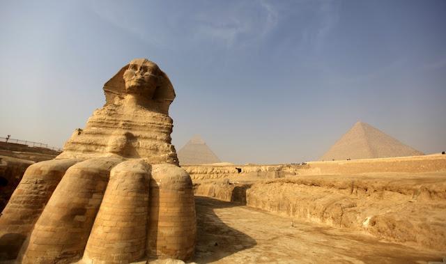 Le Piramidi e la Sfinge