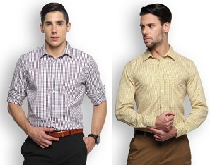 Brooklyn Blue Men's Shirts worth Rs.999 for Rs.293 Only @ Flipkart