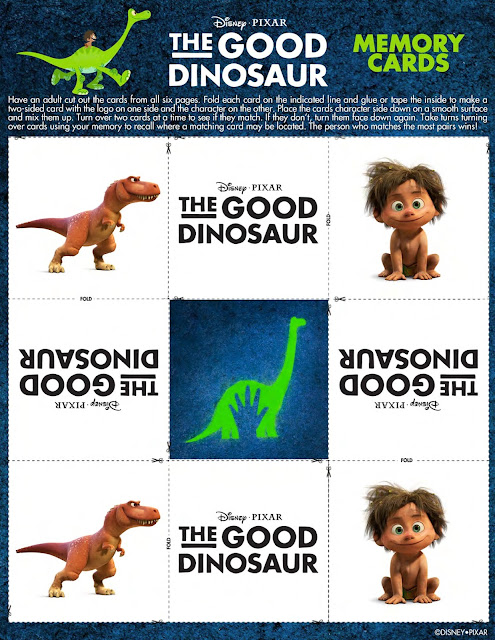 THE GOOD DINOSAUR- - Coloring & Activity Sheets  via  www.productreviewmom.com