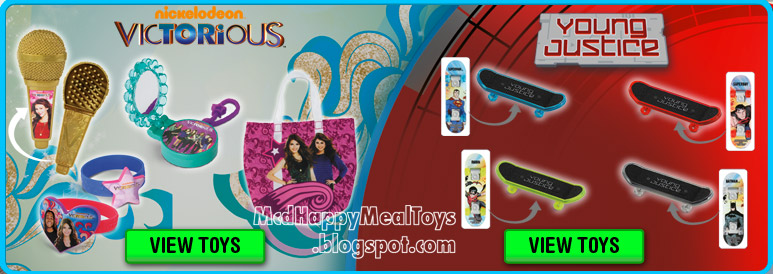 McDonald's México Victorious (Cajita Feliz) - YouTube |Victorious Happy Meal Toy