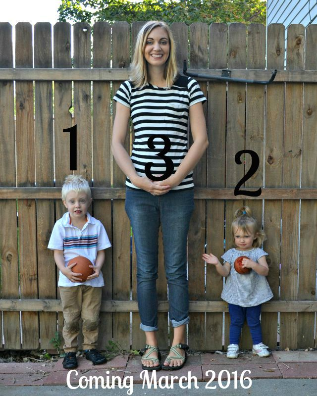 Baby #3 announcement // handmade union st tee