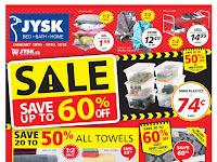 JYSK Flyer Bed Bath Home valid January 18 - 24 ,2018