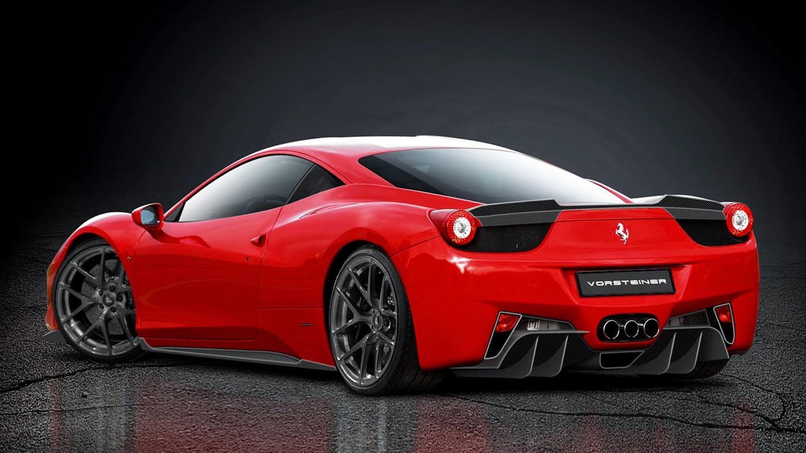 Wallpaper Mobil Sport Ferrari Teranyar