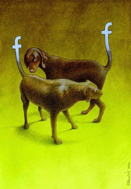 Ilustraciones divertidas y sarcásticas - facebook