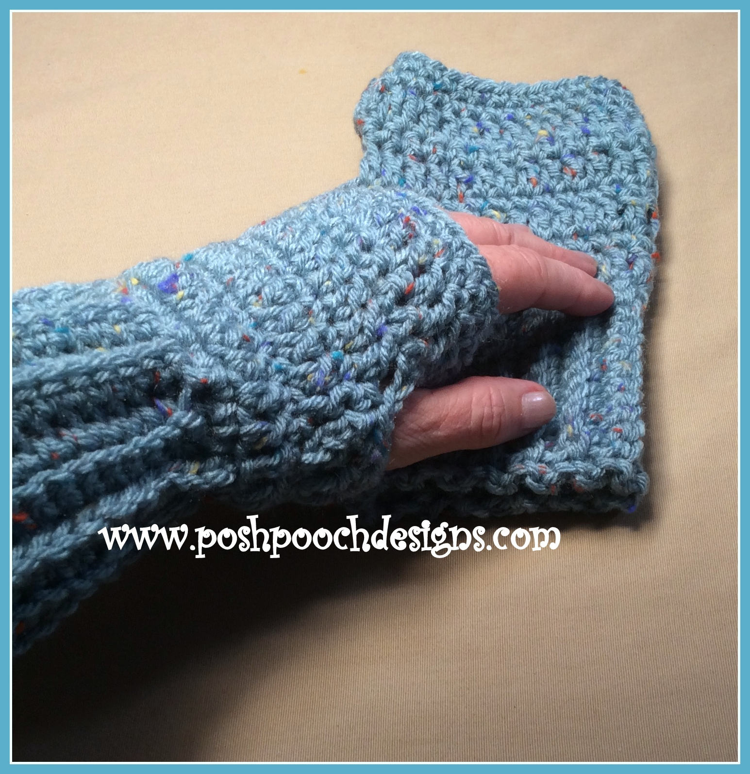 Posh Pooch Designs Dog Clothes Easy Fingerless Gloves Posh Pooch