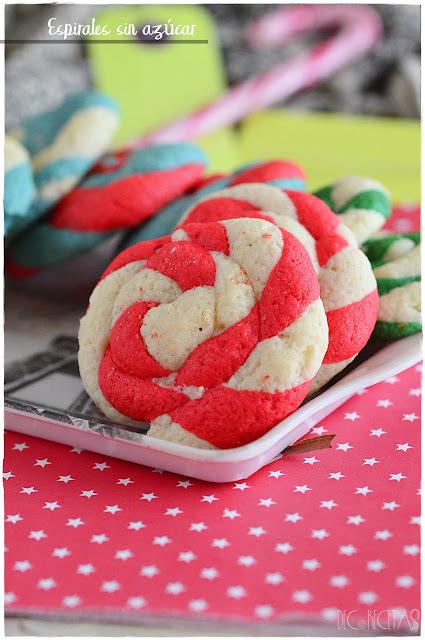 Espirales sin azúcar