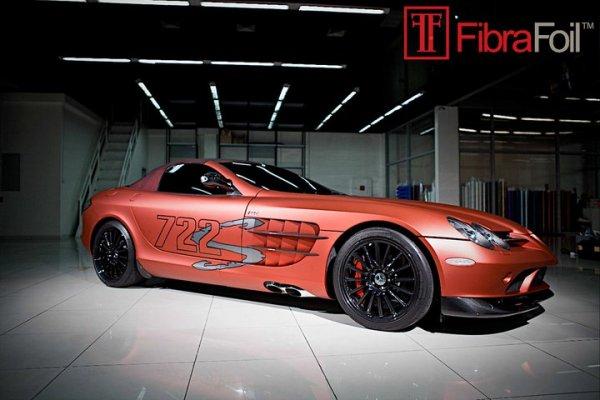 Dcgoldca Mercedes Benz Slr Mclaren 722 Edition Red By Fibra