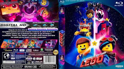 CARATULA - LA GRAN AVENTURA LEGO 2 - THE LEGO MOVIE: THE SECOND PART - 2019