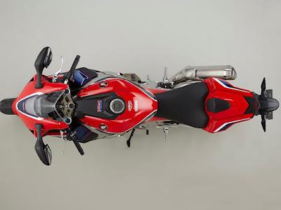 2017 Honda CBR1000RR Fireblade SP top view image