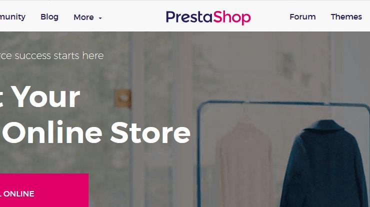 PrestaShop eCommerce software