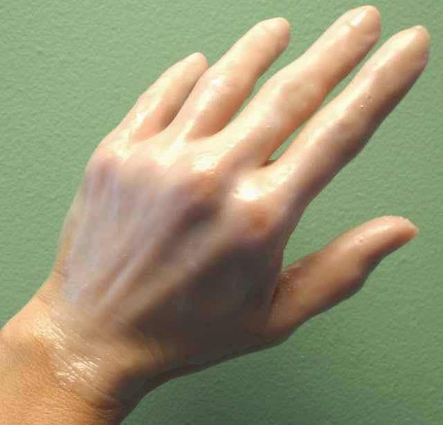 paraffin wax on hand
