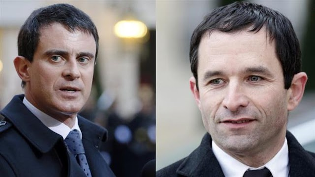 Benoit Hamon, Manuel Valls lead in first round of French socialist primaries: Early results