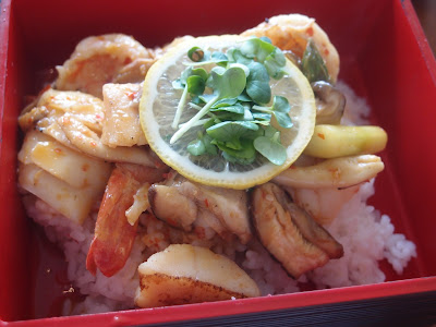 Spicy Lemon Seafood Don