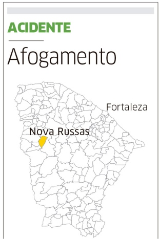NOVA RUSSAS-CE:  Criança morre ao cair em bueiro