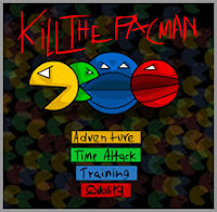 Here is an awesome #Arcadegame by #Newsgrounds and #Y4 dubbed killThePacmen!