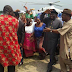 Photos: Former president Goodluck Jonathan and his wife Patience, at a function in Okirika town
