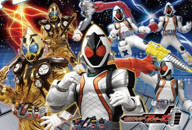 Anime \\ Tokus: Kamen Rider Fourze: Nova Forma e Riders do Filme Vs OOO