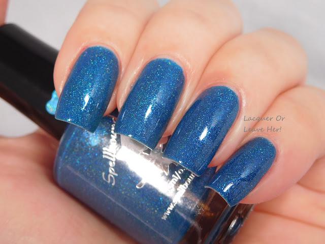 Spellbound Nails Twilight's Last Gleaming