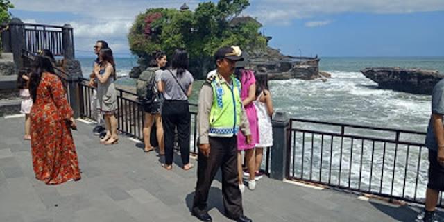 Manajemen Tanah Lot Tingkatkan Pelayanan Antipasi Lonjakan Wisatawan
