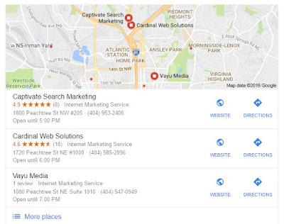 Best Atlanta SEO Company in Google Search