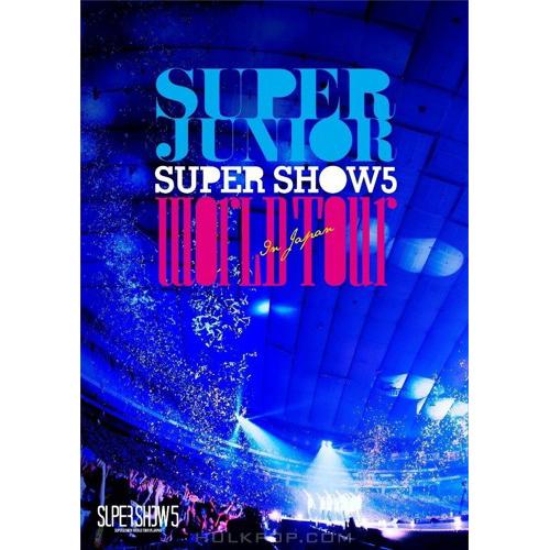 SUPER JUNIOR – SUPER JUNIOR WORLD TOUR SUPER SHOW5 in JAPAN