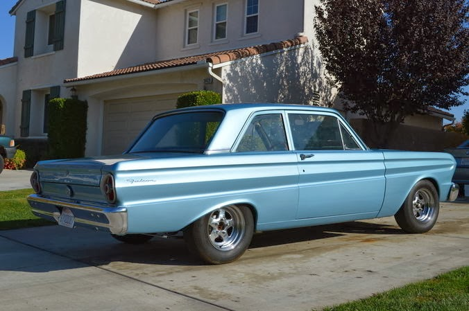 Daily Turismo: 5k: 5-Oh Power: 1965 Ford Falcon Restomod