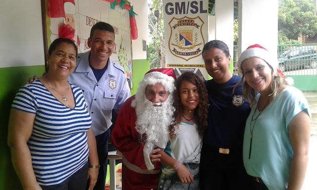 III Natal Solidário da Guarda Municipal de Santa Luzia MG
