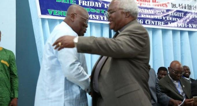 Akufo-Addo Hails Outgoing Presby Moderator Martey