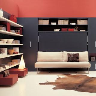 Kreativna notranja oprema za stanovanja ali hiše.
