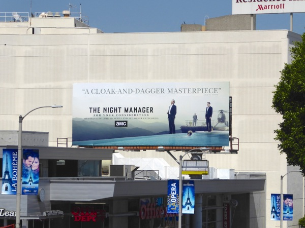 Night Manager 2016 Emmy FYC billboard