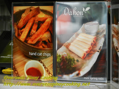 Chips and Spring Rolls