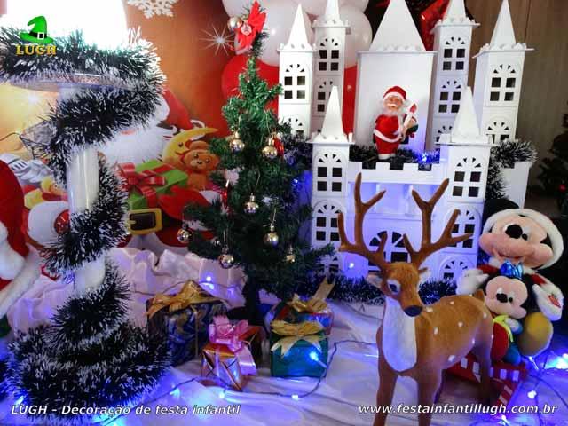 Decoração infantil Natalina (Papai Noel) - Festa de aniversário