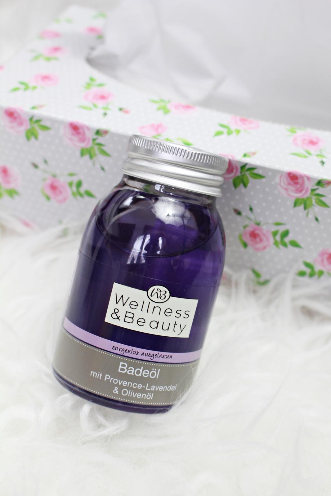 Wellness & Beauty, olejek do kąpieli z lawendą prowansalską i oliwką