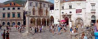 Sponza Plaza Dubrovnik Croatia