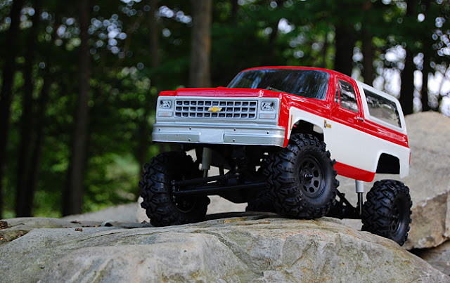 "Axial AX10 X-Trail 1.9"" Conversion"