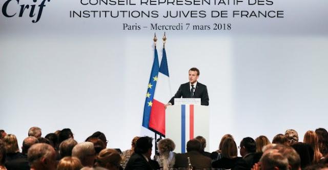 Macron refuse la reconnaissance de Jérusalem comme capitale de Israël