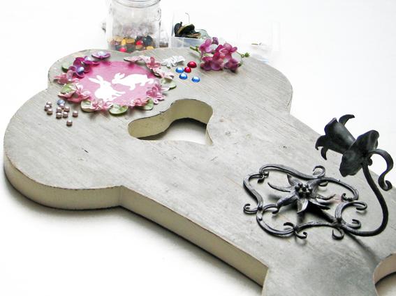 rauschmittel sch nes aus altem kerzenhalter f r die wand. Black Bedroom Furniture Sets. Home Design Ideas