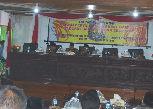 Anggota Dewan Tidak Kuorum, Perda Perlindungan Guru, Batal Di Sahkan